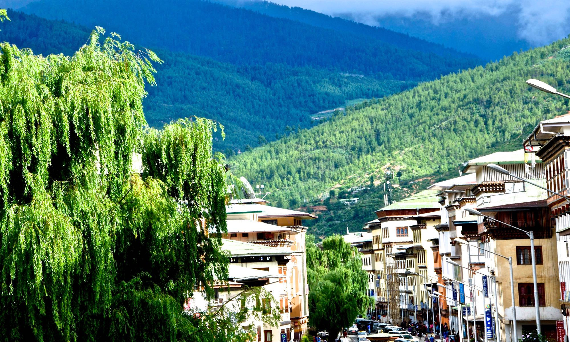 Capital city of Bhutan